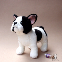 Stuffed Animals Toy Simulation Bulldogs Doll Lovely Child Toys Gifts Good Quality