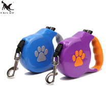 TAILUP 5M Pets Dog Retractable Leash Automatic Extending Pets Walking Leads For Medium Large Dogs Neck Collar Leashes CL128