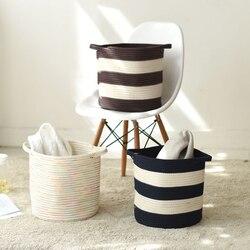 Nordic styl wielofunkcyjna torba do przechowywania łazienka sypialnia pościel bawełniana kosz na pranie kosz na bieliznę kosz na organizowanie worek do przechowywania
