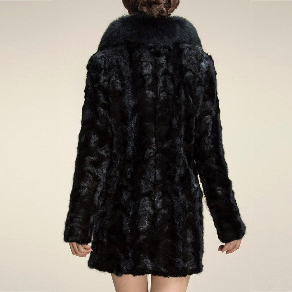 Manteaux Mode Manteau Des Casaco Femmes Veste Feminino Fourrure De Revers Long D'hiver Vêtements Tendance Faux Chaud OdPYqwq