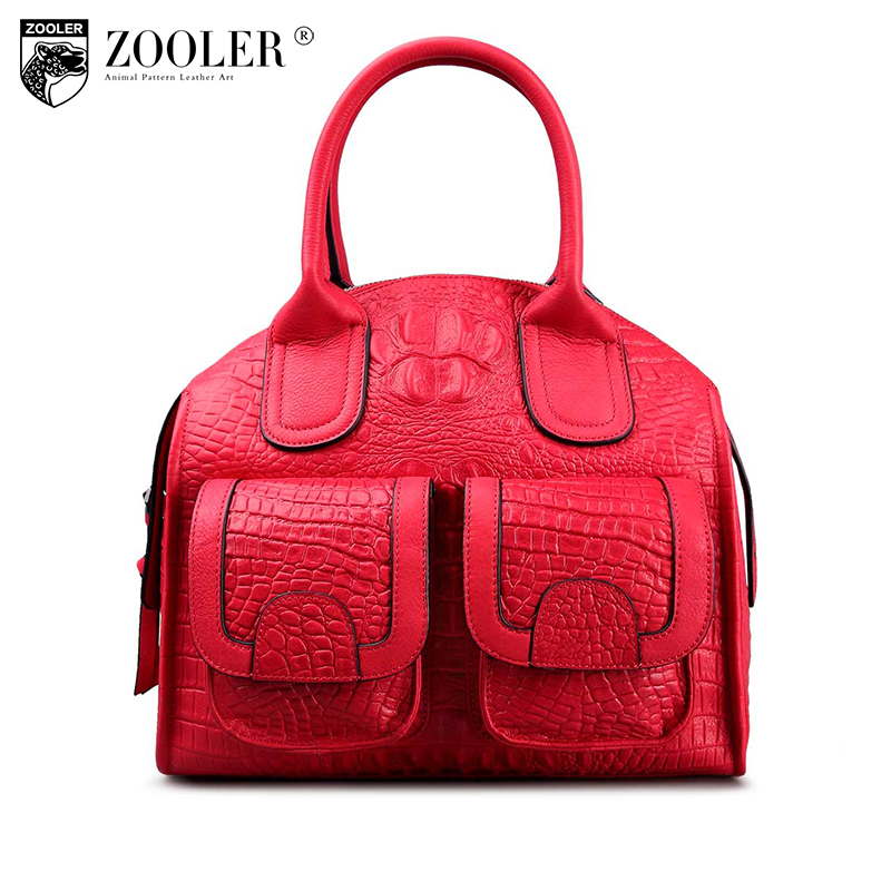 ZOOLER Brand 2016 New genuine leather bag Special limited edition woman leather handbags Vintage High end luxury bag #3610 new mf8 eitan s star icosaix radiolarian puzzle magic cube black and primary limited edition very challenging welcome to buy