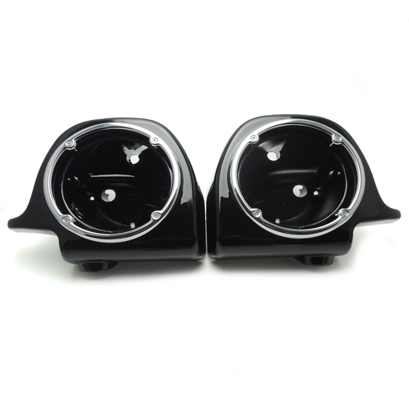 Vented Lower Fairing 6.5 Speaker Boxes Pods for Harley Touring Electra Glide 1993-2013 New