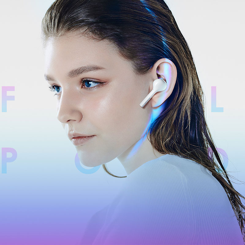 Huawei Honor Flypods Lite Wireless Earphone Hi Fi IP54 Waterproof Tap control Wireless Charge Bluetooth 4 2 Headset in Bluetooth Earphones Headphones from Consumer Electronics
