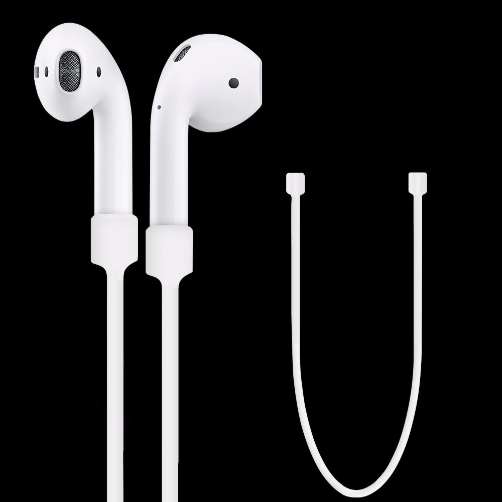 20pcs Silicone Ear Loop Strap Anti Lost String Rope Cord for Air Pods for Apple Bluetooth Earphones for AirPods Earphones Acces
