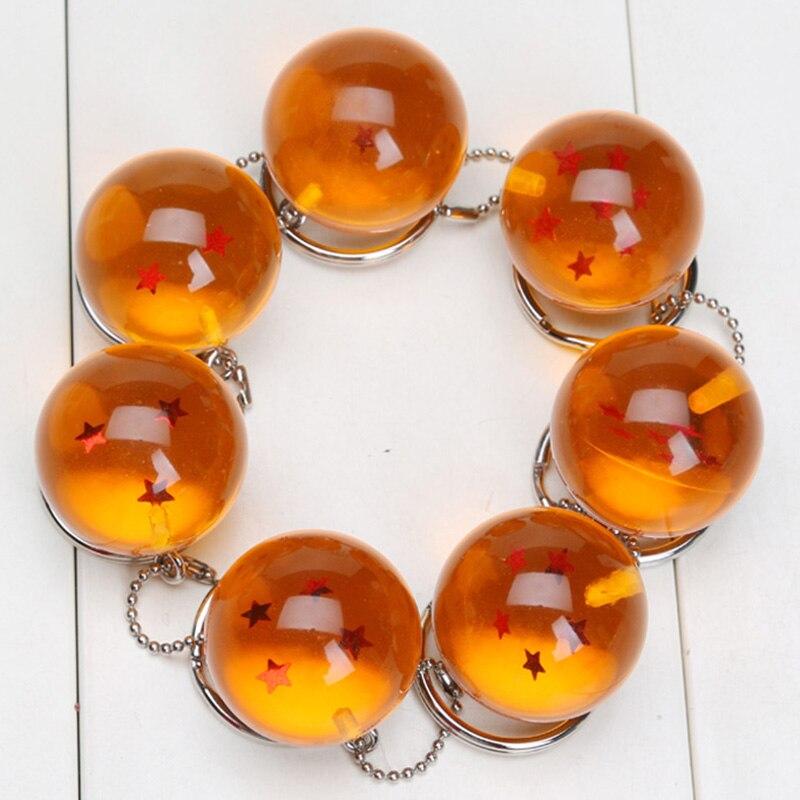 Oyuncaklar ve Hobi Ürünleri'ten Aksiyon ve Oyuncak Figürleri'de 10 takım Stokta 2.5cm dragon topu Z Çanta 7 Yıldız Reçine Toplar PVC Rakamlar Oyuncaklar Anahtarlık Kolye 1 2 3 4 5 6 7 yıldız Komple set'da  Grup 3