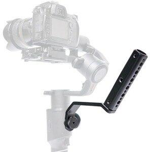 """Image 1 - กลับแบบพกพาขยายแขนยึด 1/4 """"สกรูสำหรับMOZA Air2 Gimbalสำหรับกล้องวิดีโออุปกรณ์เสริมMic"""