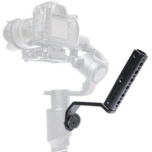 """Image 1 - Back Portable Extension Arm Bracket with 1/4"""" Screw Mount for MOZA Air2 Gimbal for Video Light Mic Accessories"""