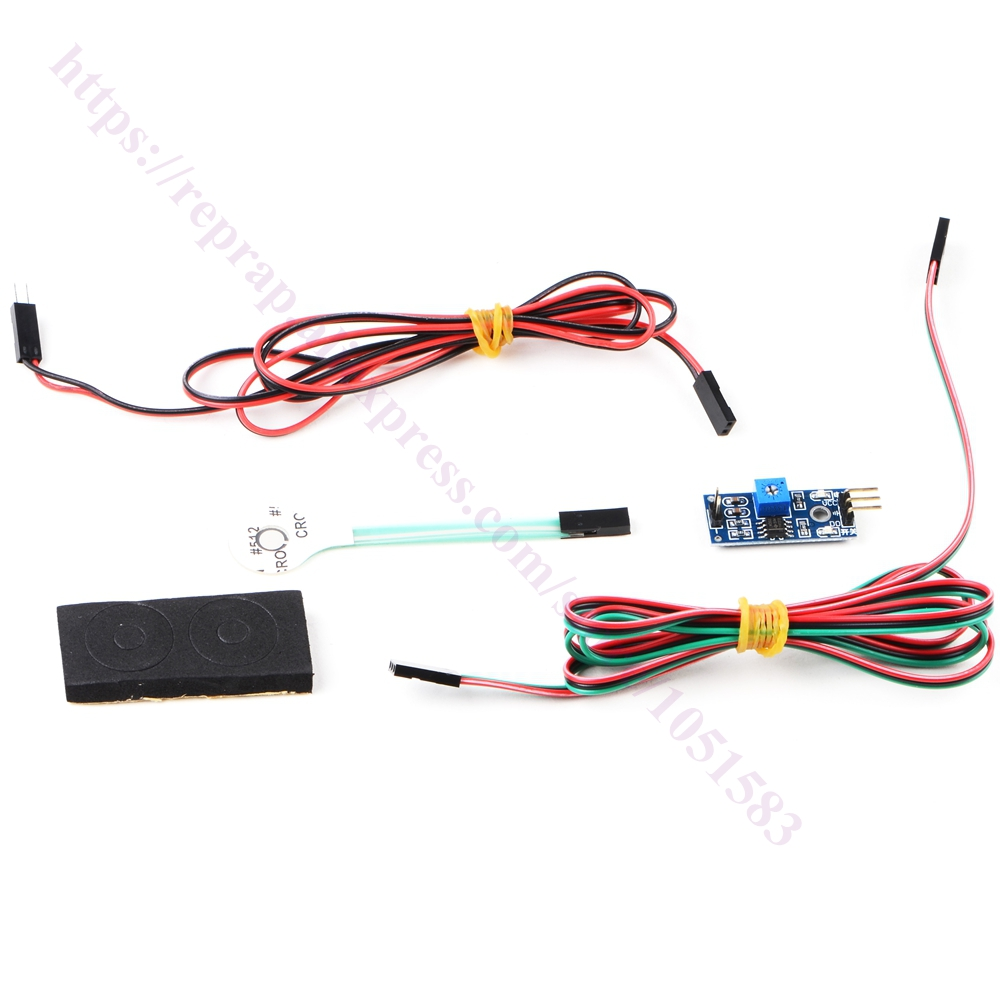 Hotbed Balance Auto Leveling Pressure Sensor W Indicator Light For Diy 3d Printer Connections Of Ramps 1 4 Description Hole Size 7mm E3d V6 Hotend Use 8mm Mk7 Or Mk8 Extenal Its Compatible With Ramps14 Mega2560