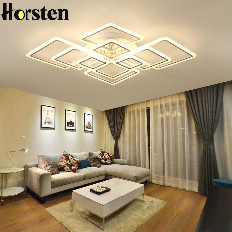 Hervorragend Moderne Kreative Acryl FÜHRTE Deckenleuchten Lampe Überlappenden Rahmen  Luxus Deckenleuchten Für Wohnzimmer Esszimmer Schlafzimmer