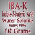 10g de Ácido indol butírico Ácido Indol-3-butírico IBA Rhizotonic Clonex IBA-K agua