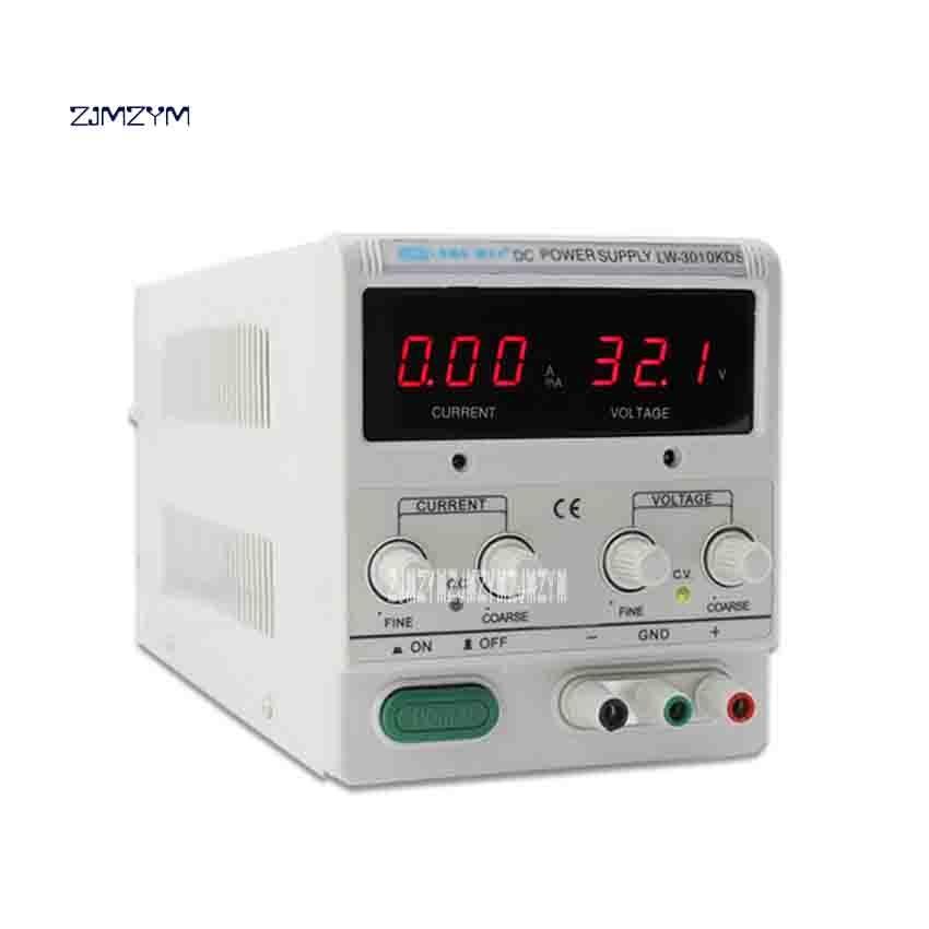 LW-K3010KDS 30 V 10A réglable DC tension régulateur alimentation à découpage affichage numérique ordinateur portable réparation alimentation