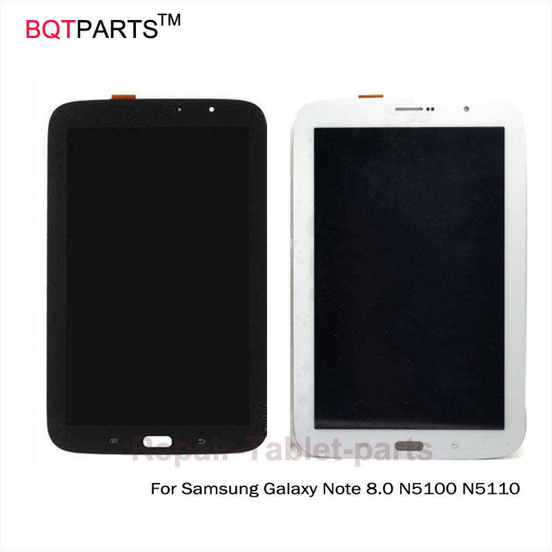 ФОТО BQT Tablet touch screen 7 replacement For Samsung Galaxy Note 8.0 N5100 N5110 lcd display screen with touch screen digitizer
