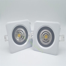 Free Shipping IP65 Waterproof 12W/15W COB SMD LED Ceiling down Light round Recessed Downlight AC90-260V