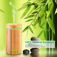 Essential Oil Diffuser Ultrasonic Aromatherapy Diffusers With 7 LED Colorful Lights And Waterless Auto Shut Off