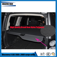 High Quality SHELF KEEP OUT SCREEN RETRACTABLE Car Trunk Security Shield Cargo Cover For Discovery 3 LR3 2005 .2009