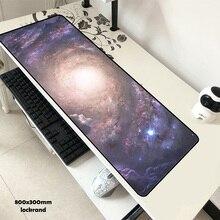 Galaxy гелевый коврик для мыши 80×30 см коврик для мышки красивый коврик для компьютерной игровой коврик для игровой мыши к ноутбуку настоящий коврики для мыши