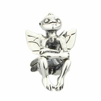 925 Sterling Silver Fantasy Elf Pendant Charm Bead Fits European DIY Brand Troll Bracelet Necklace Jewelry