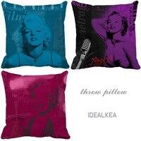 Marilyn Monroe Trang Trí Trang Trí Đệm Thương Hiệu 2015 Home Xe Cushion Trang Trí Ném Gối Marilyn Monroe Trang Trí Trang Trí Cojines