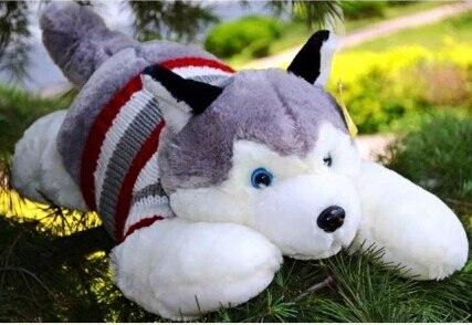 Papa sled dog / birthday gift / plush doll