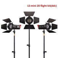 CRI 97+ LS Mini20 flight kit ddc fresnel cob led light photography led light film led light with light stand