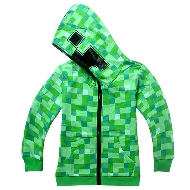 f27b8e8dc Kids Cartoon Minecraft Pullover Hoodie Hoodie T shirt Sweatshirt ...