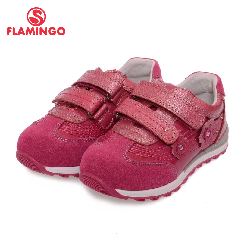 FLAMINGO 100% Russian Famous Brand 2016 New Arrival Spring & Autumn Kids Fashion High Quality shoes XP5824/XP5825