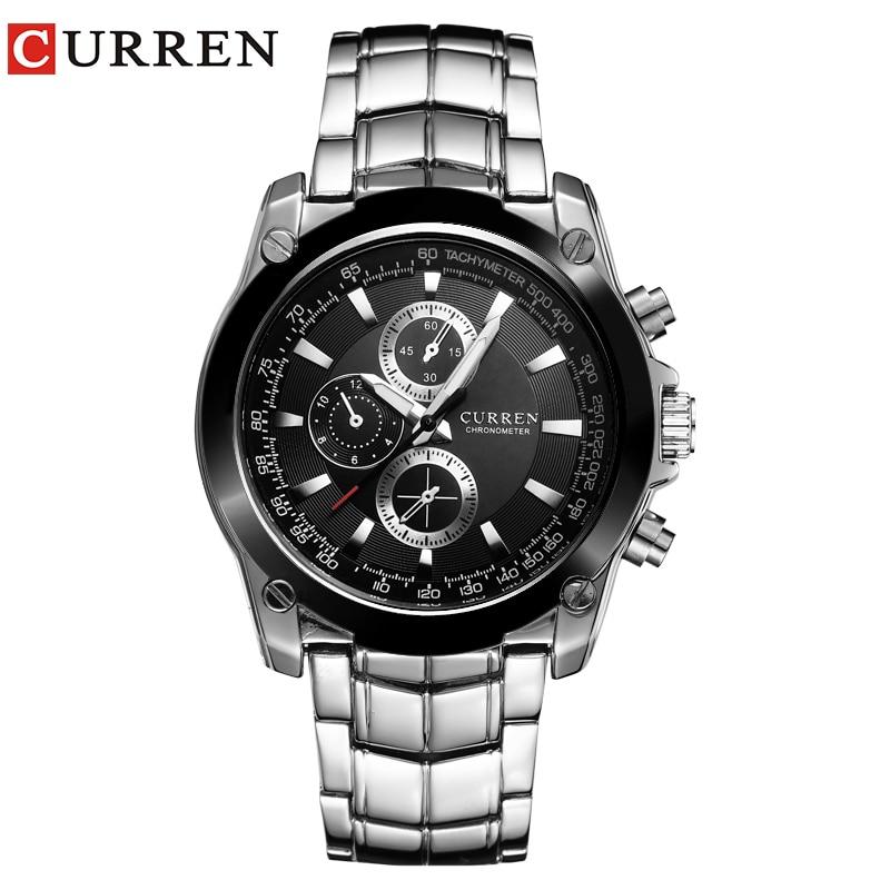 532d237e0df CURREN Relógios Homens Marca De Luxo Relógios de Negócios Relógios Casuais  Relógio de Quartzo relogio masculino 8025 em Relógios de quartzo de Relógios  no ...