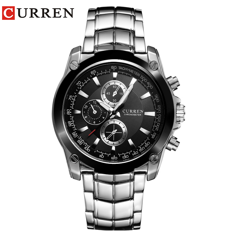 Curren watches men luxury brand business watches casual watch quartz watches relogio masculino for Curren watches
