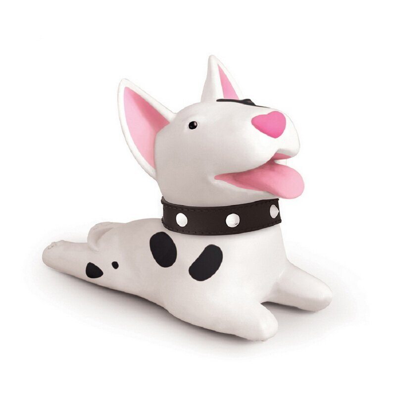 1 Pcs Cute Cartoon Animal Doorstop Dog Cat Mouse Pig Shape Silicone Home Safety Creative Decor creative home cartoon cat shape plastic small desktop trash blue