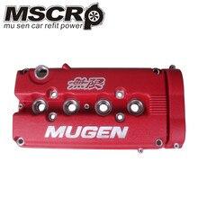 Mugen gunmetal 엔진 밸브 커버 b16 b18 acura integra gsr dohc vtec