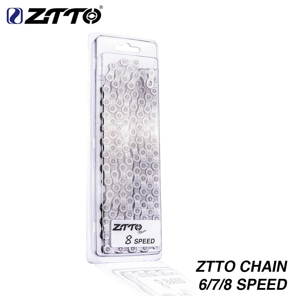 ZTTO MTB Mountainbike Rennrad Teile Hohe Qualität Durable Kette 6 7 8 18 21 24 Geschwindigkeit S für Teile K7 System