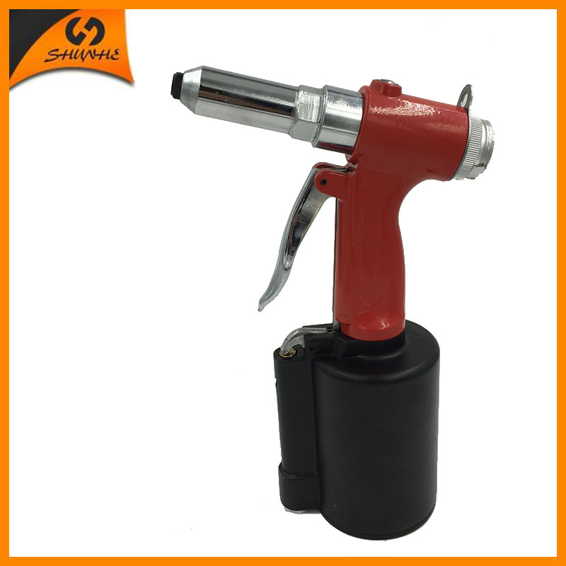 цена на SAT6603 Pneumatic Rivet Gun Pneumatic Air Riveter Tools 3/16'' Air Riveter Gun Stapler for Furniture Power Tool Hand Riveter