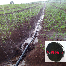 "50/100 Meters Garden Drip Tape Irrigation Kit N45/1"" Hose Watering System Flat drip line 0.19mm thickness"