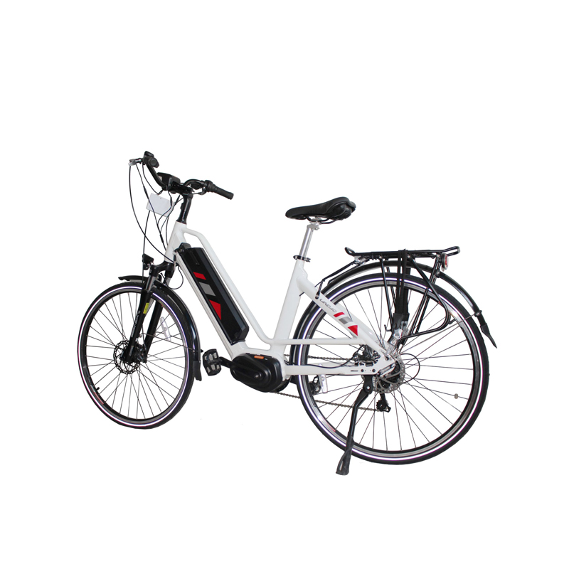 700c electric bicycle 7 speed detachable battery electric bike double disc brake e bike adult travel electric bicycle