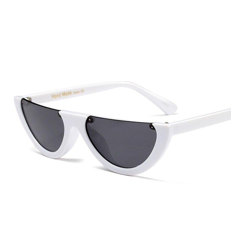 2e8894a844 SOLO TU Fashion Trend Semi-Rimless Women Men Sun Glasses Brand Designer  Personality Cosy Shades All ...