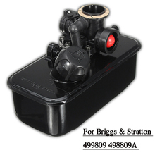 Fuel Gas Tank and Carburetor Assembly For Briggs & Stratton 499809 498809A 494406 Home Garden Supplies Accessories стоимость