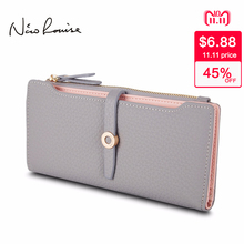Top Quality Latest Lovely Leather Women's Long Wallet