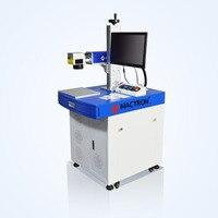 High Power 50W Fiber Laser Marking Machine Deep Marking on Metal