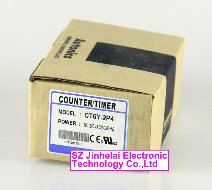 CT6Y-2P4(Old version: CT6Y-2P) New and original AUTONICS Count relay 100-240VAC цены