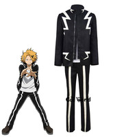 Boku No Hero Academia My Hero Academia Kaminari Denki Uniform Coat T shirt Pants Outfit Anime Cosplay Costumes