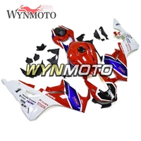 Complete ABS Plastic Injection Red White Blue Motorcycle Fairings For Honda CBR1000RR 2017 2018 Year Model  Sportbike  Cowlings