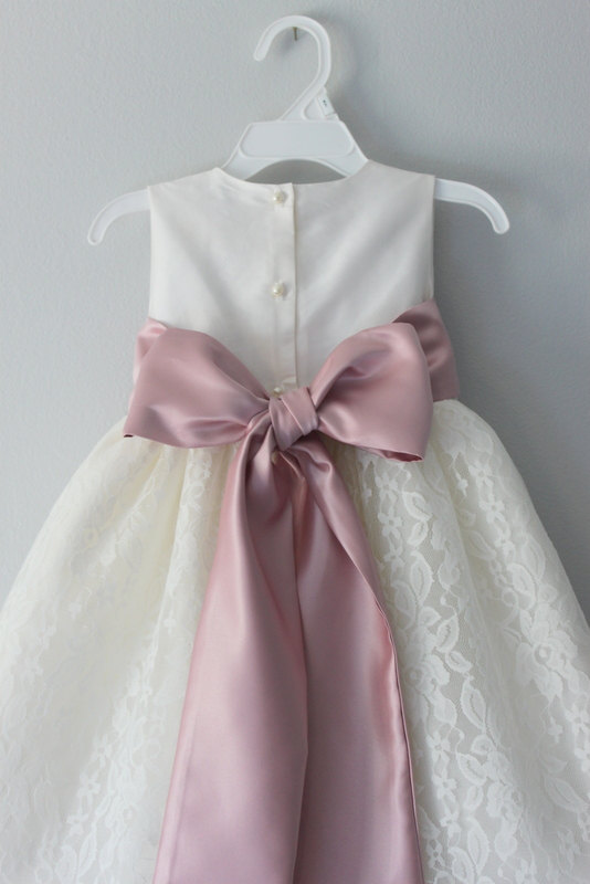 Handmade First Communion Dresses for Girls A-Line Flower Girl Dresses With Sashes Sleeveless Girls Dress For 2-12 Year Old фабрика мороженого французские кулинарные опыты науки с буки bondibon