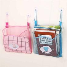 Новейшая настенная сумка для хранения ванная кухня сетка детский Органайзер Для Детей Чистая Ванна время аккуратная игрушка присоска сумка Контейнер#30