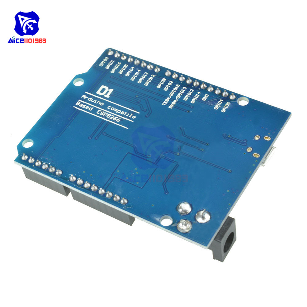 Image 5 - OTA WeMos D1 CH340 CH340G WiFi Development Board ESP8266 ESP 12 ESP 12E Module For Arduino IDE UNO R3 Micro USB ONE 3.3v 5v 1A-in Integrated Circuits from Electronic Components & Supplies