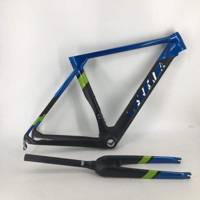 LAMINAR Full carbon frame Carbon bike frame customized painting road bike frame fork sale frame  customized mustang ebike