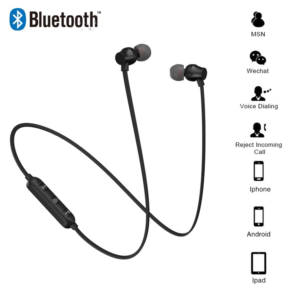 Dutiful Newest Wireless Headphone Bluetooth Earphone Headphone Neckband Running Sport Earphone Bluetooth V4.1 Music For Mobile Phones Good For Energy And The Spleen