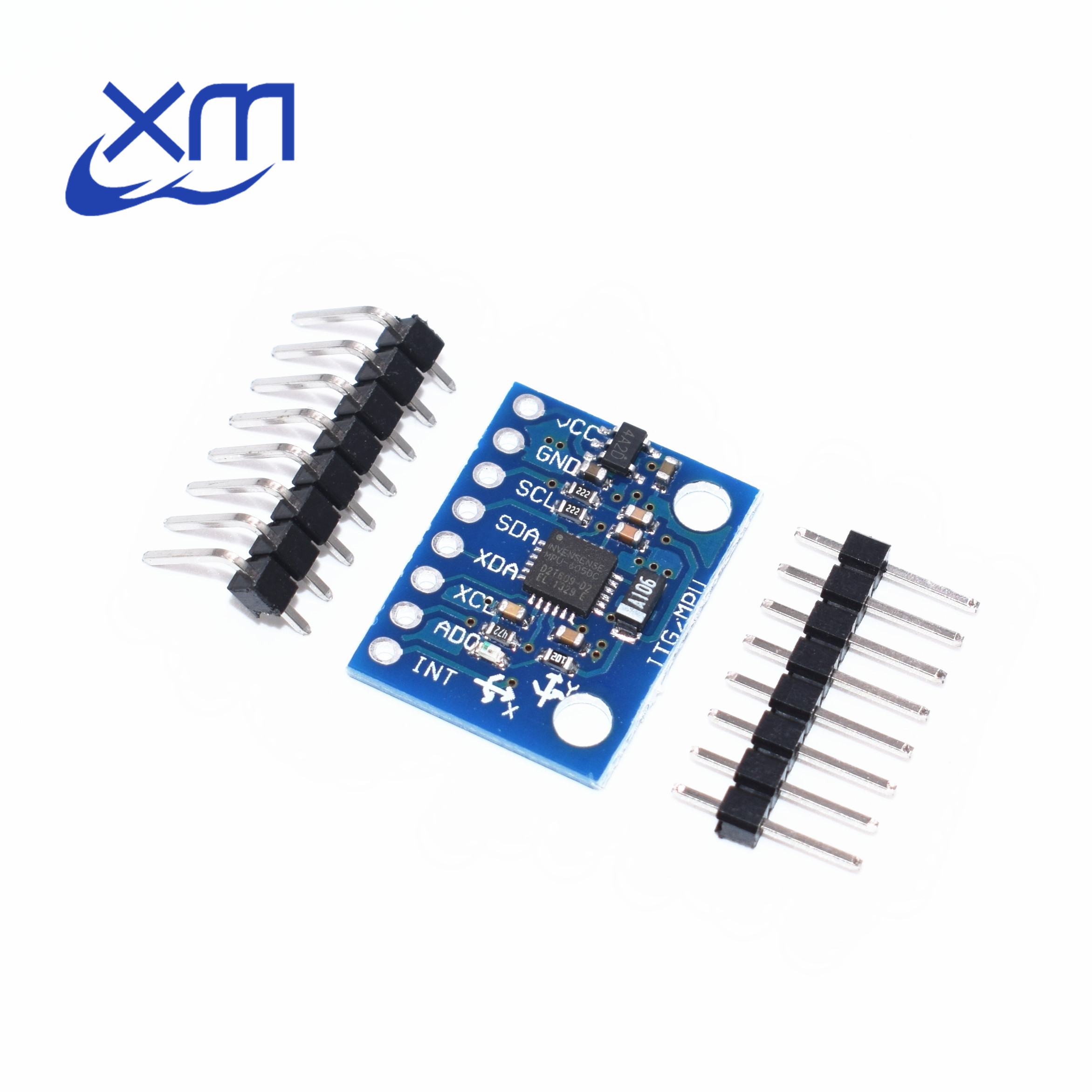 50PCS GY 521 MPU 6050 MPU6050 Module 3 Axis analog gyro sensors+ 3 Axis Accelerometer Module C74-in Integrated Circuits from Electronic Components & Supplies