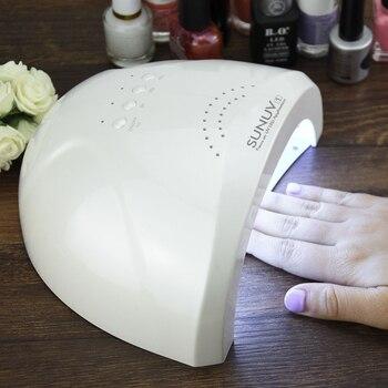 SUNUV SUNone 48 W profesional LED lámpara de uñas lámpara UV secador de uñas lámpara de Gel de uñas