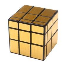 Moyu MofangjiaoShi Windmill 3x3 Mirror Cube Silver Gold Educational Cubo Magico Toy Gift Idea Drop Shipping