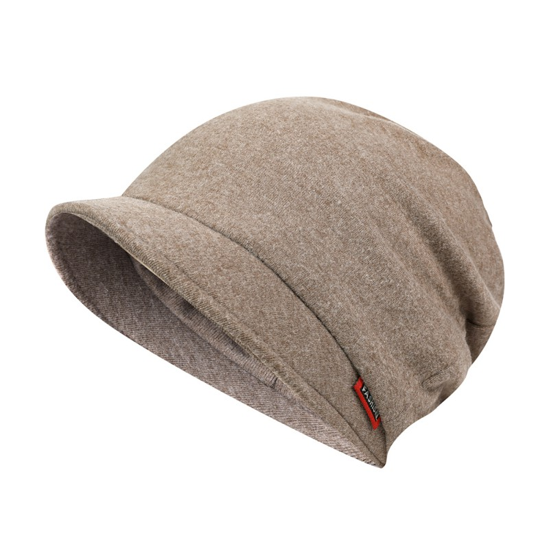 Women Men Double Layer Warmer Cap Scarf Causal Lightweight Breathable Anti-sweat Blend Hat Neck Autumn Winter Hat New